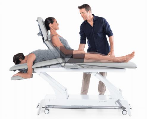 Gymna Pro Posición constante del paciente